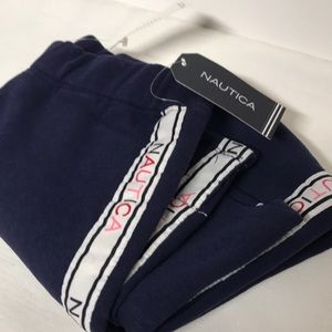 Girls Navy blue Sweatpants girls 6X straight leg